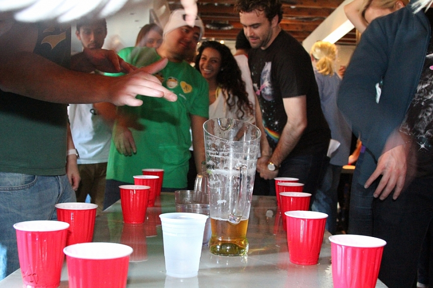 Flip Cup Tourney - January 2016