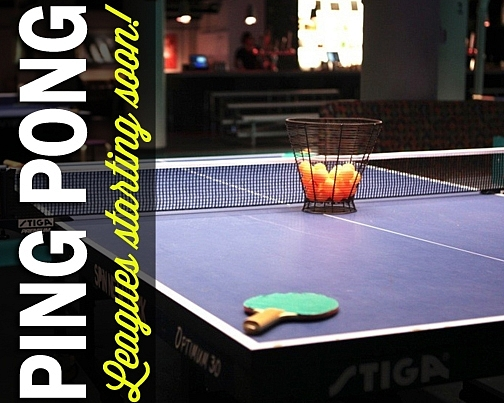 Club Sport Ping Pong Leagues
