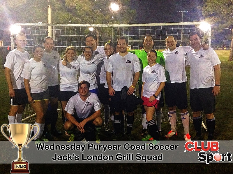 Jack's London Grill Squad (a) - CHAMPS