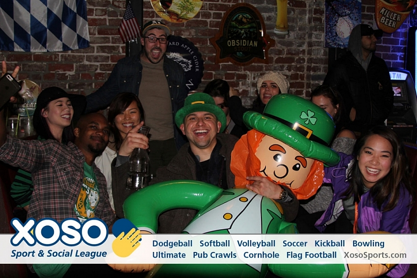 St. Patrick's Day Pub Crawl - 2016
