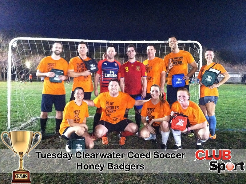 Honey Badgers - CHAMPS