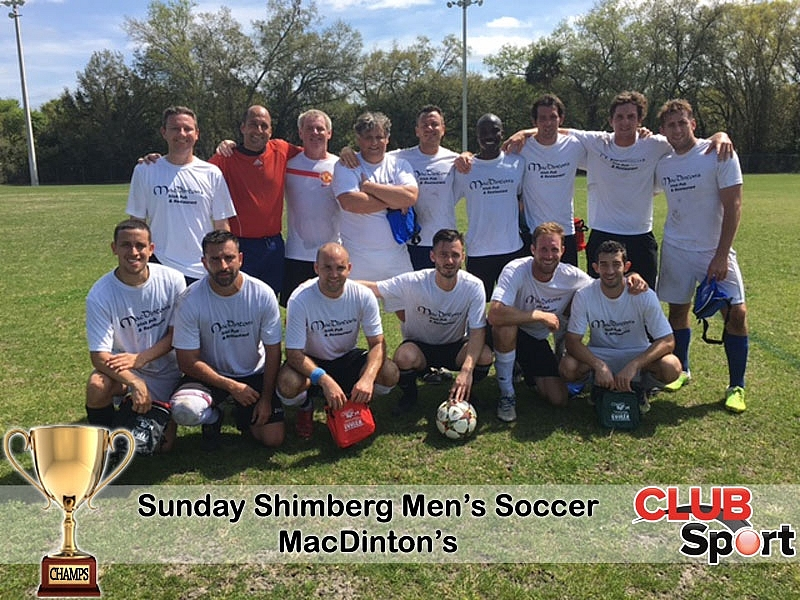 MacDinton's Irish FC (i) - CHAMPS