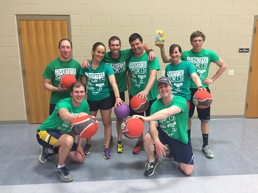 2016 Dodgeball League Champions! - Yearn Hottie Fun Clothes!