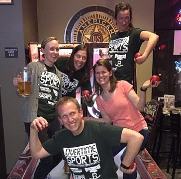 2016 Skeeball League Champions! - High Rollers!