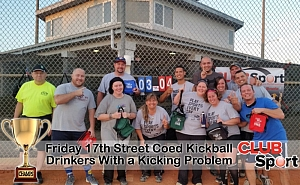 Drinkers with a Kicking Problem - CHAMPS photo
