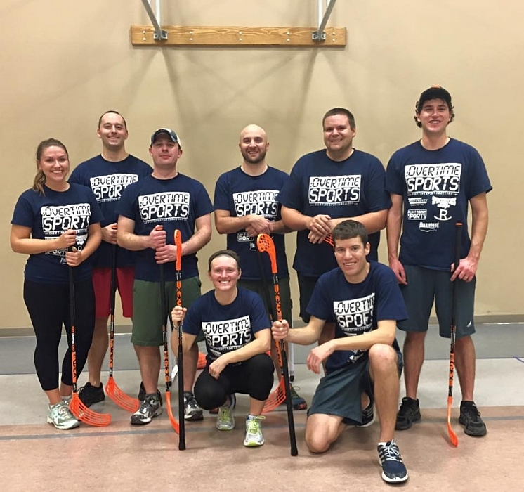 Fall 2015 Floor Hockey - Congratulations Hot Garbage on their repeat league champsionship!