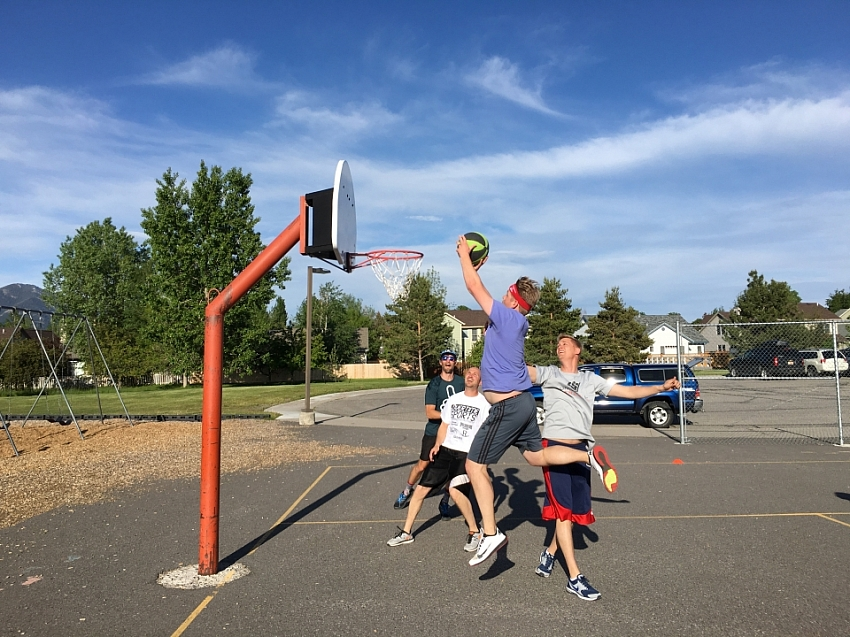 2016 Co-ed Outdoor Basketball