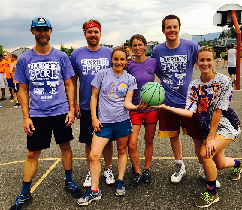 Spring 2016 Co-ed Outdoor Basketball League Champions - Metta Data