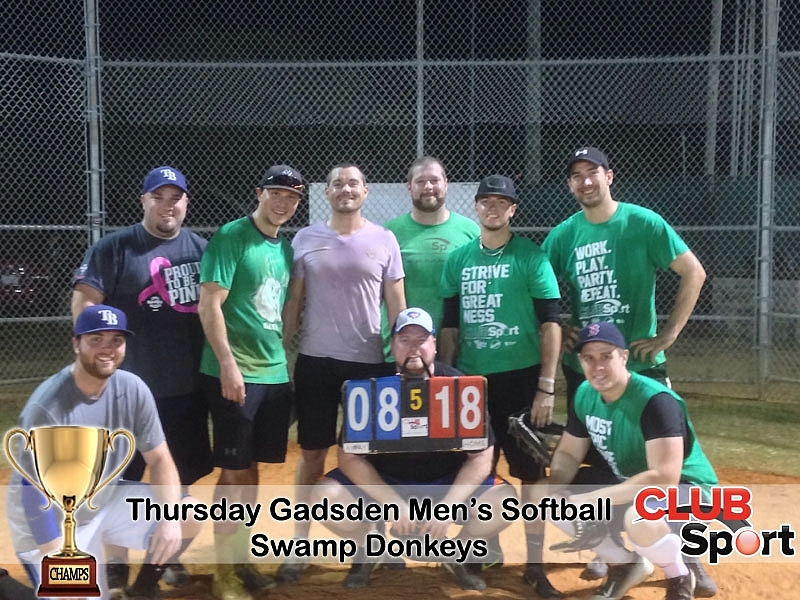Swamp Donkeys (m) - CHAMPS