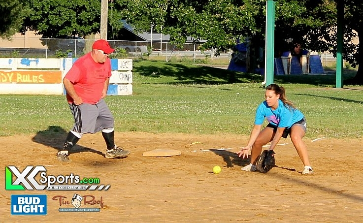 Monday Softball @ The JCC 6/13/16