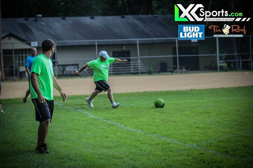 Sunday Kickball @ Lyndon Elks Lodge 6/12/16