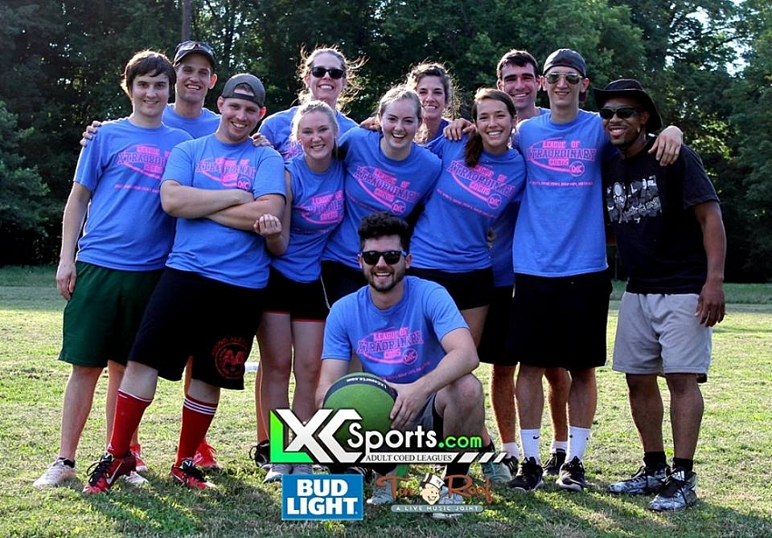 Tuesday Kickball @ Cherokee Park 6/28/16