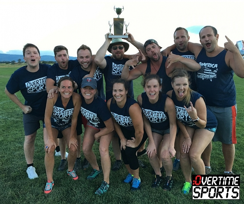 2016 Tuesday Night Kickball League Champions- Team Balls and Dolls