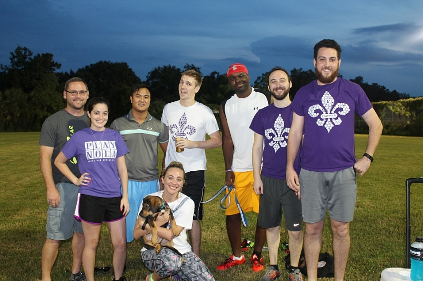 Kickball City Park - Summer 2016