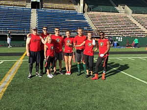 The Red shirts Team Photo