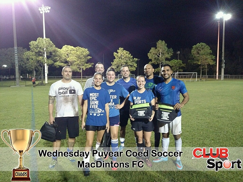 MacDintons FC - CHAMPS