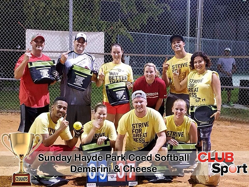 Demarini and Cheese - CHAMPS