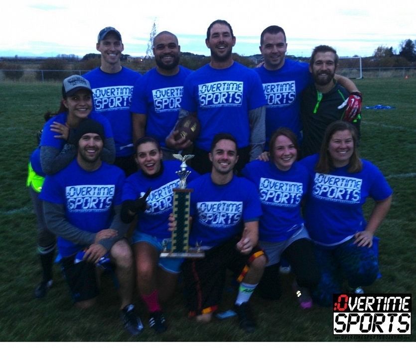 2016 Co-ed Flag Football League Champs- A Team Has No Name