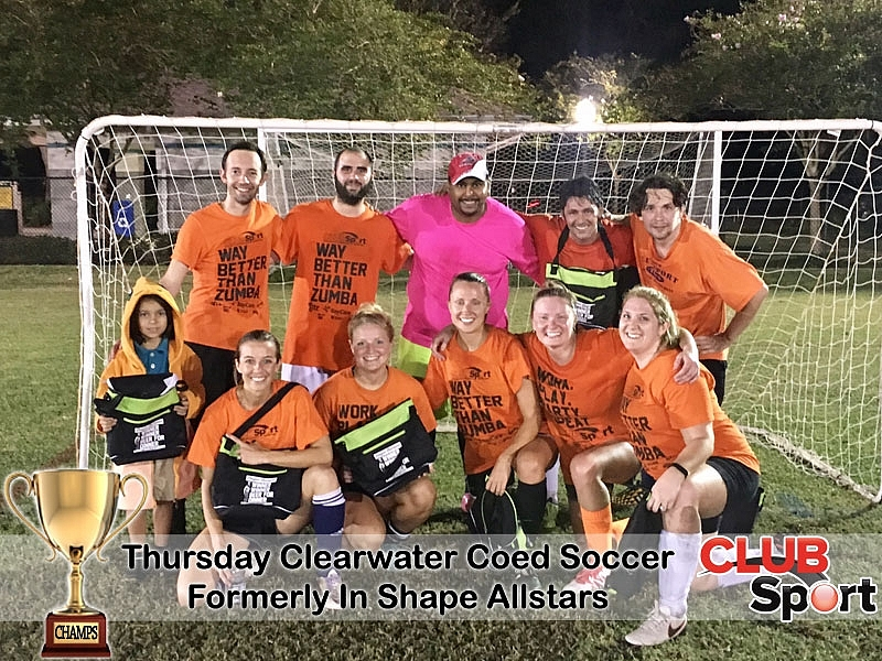 Formerly In Shape Allstars - CHAMPS