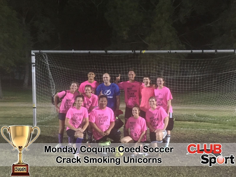 Crack-Smoking Unicorns - CHAMPS