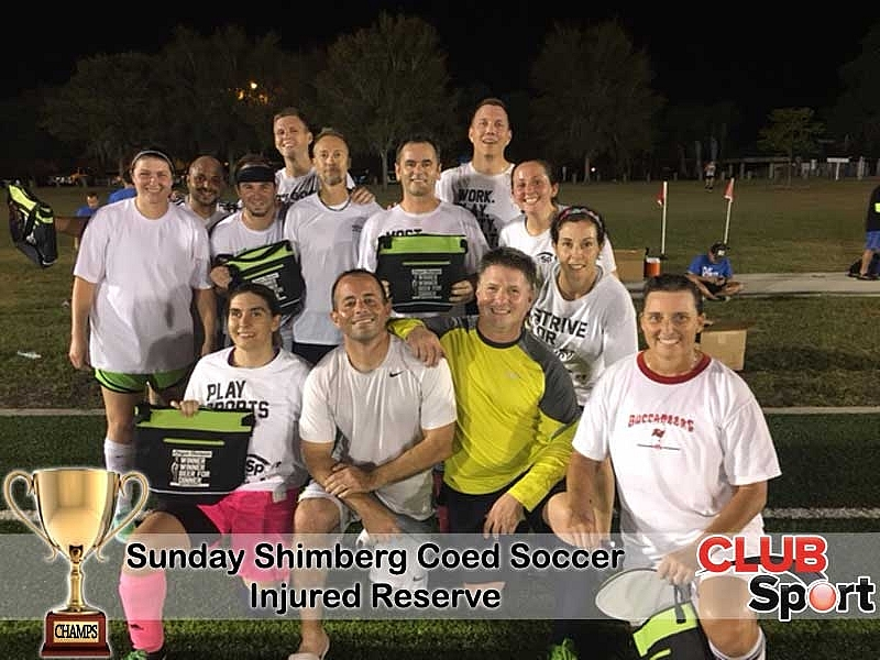 Injured Reserve - CHAMPS