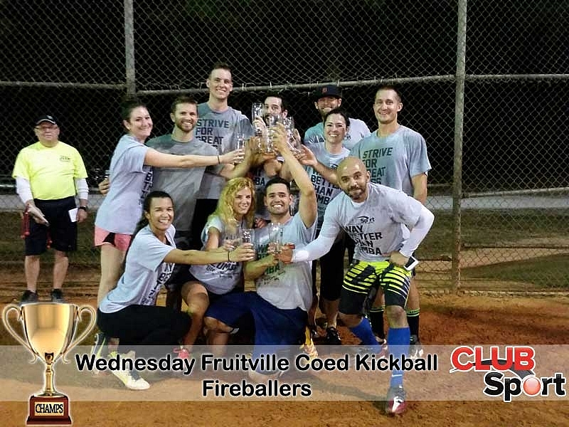 Fireballers (M) - CHAMPS