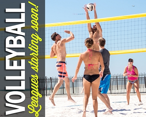 Kaboom Volleyball Leagues