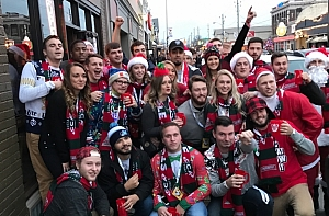 Santa Stumble Pub Crawl