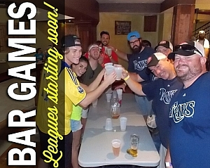 This is the South Florida Club Sport Bar Games Page