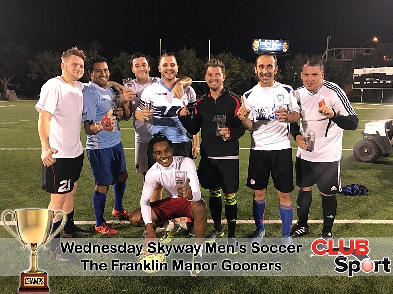 The Franklin Manor Gooners - CHAMPS
