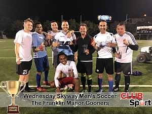 The Franklin Manor Gooners - CHAMPS photo