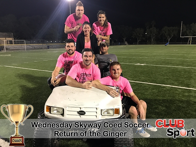 Return of the Ginger - CHAMPS