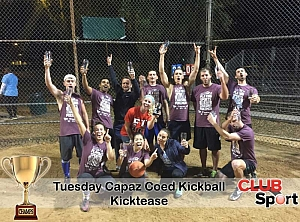 Kicktease - CHAMPS photo