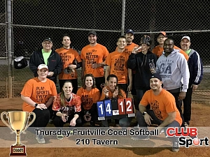 210 Tavern (R) - CHAMPS Team Photo