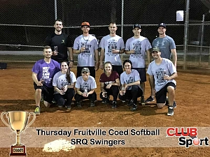 SRQ Swingers (C) - CHAMPS Team Photo