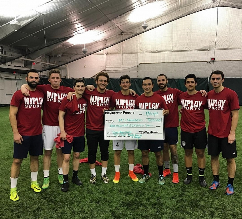 Men's Winter '17 Indoor Soccer Champs