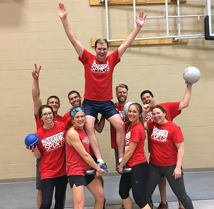 2017 co-ed Dodgeball Champs Sofa King Bueno