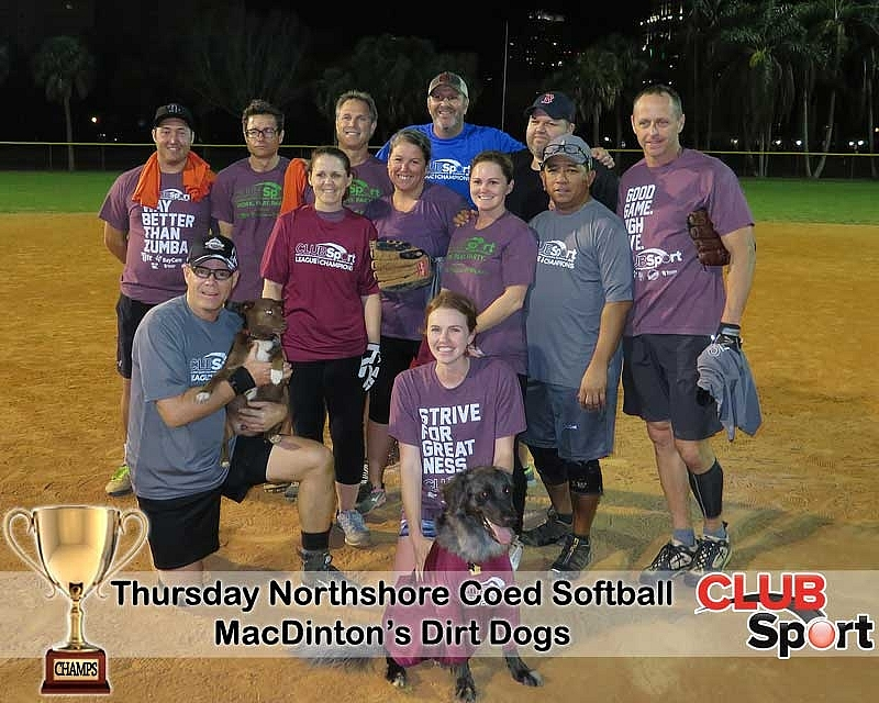 MacDinton's Dirt Dogs - CHAMPS