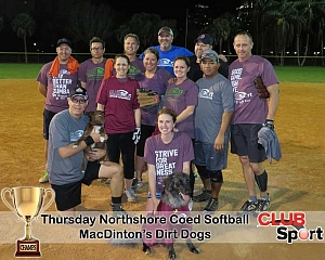 MacDinton's Dirt Dogs - CHAMPS photo