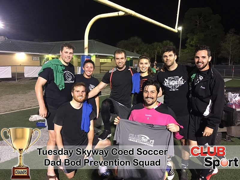 Dad Bod Prevention Squad - CHAMPS