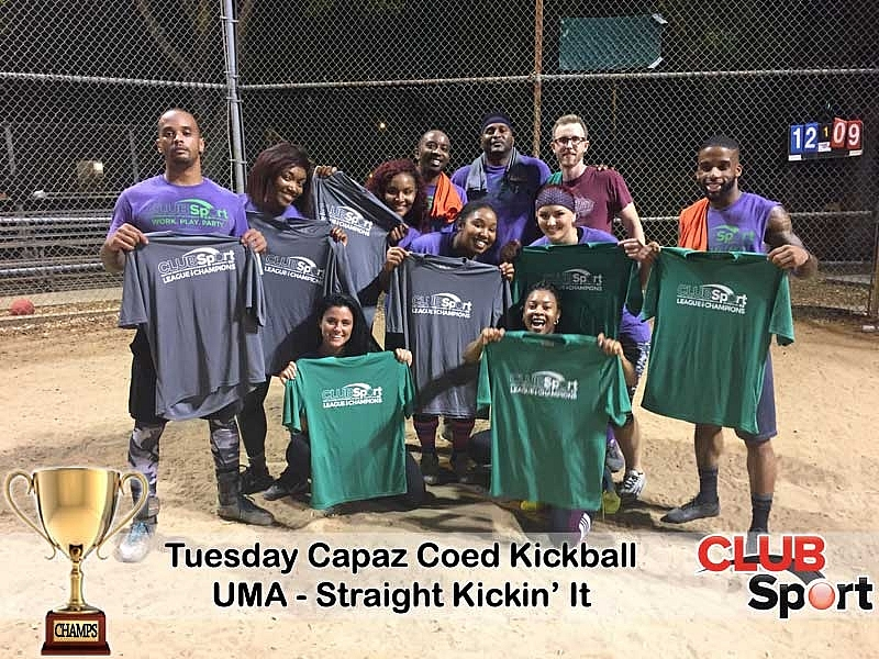 UMA - Straight Kickin' It - CHAMPS