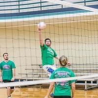 Indoor Volleyball on Wednesday at The JCC