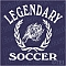 Legendary Wolves F.C. Team Logo