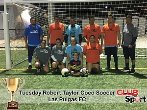 Las Pulgas FC (CB) - CHAMPS Team Photo