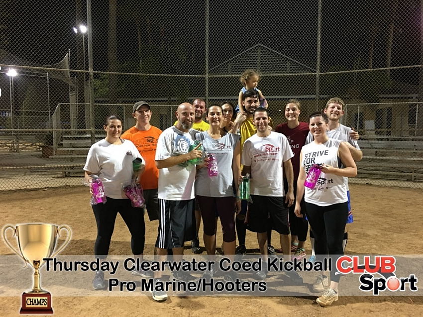 Pro Marine/Hooters (a) - CHAMPS