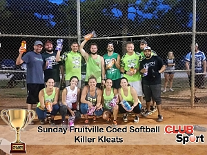 Killer Kleats - CHAMPS Team Photo