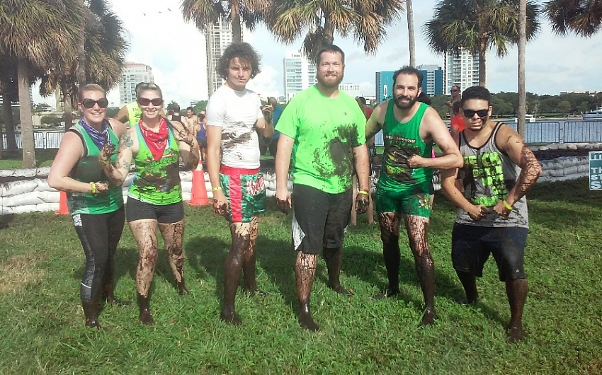 Teenage Mutant Ninja Mudders