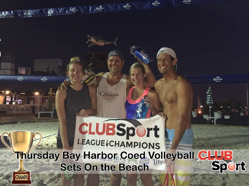 Sets on the Beach - CHAMPS