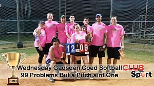 99 problems but a pitch ain't one - CHAMPS photo