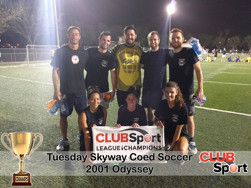 2001 Odyssey - CHAMPS
